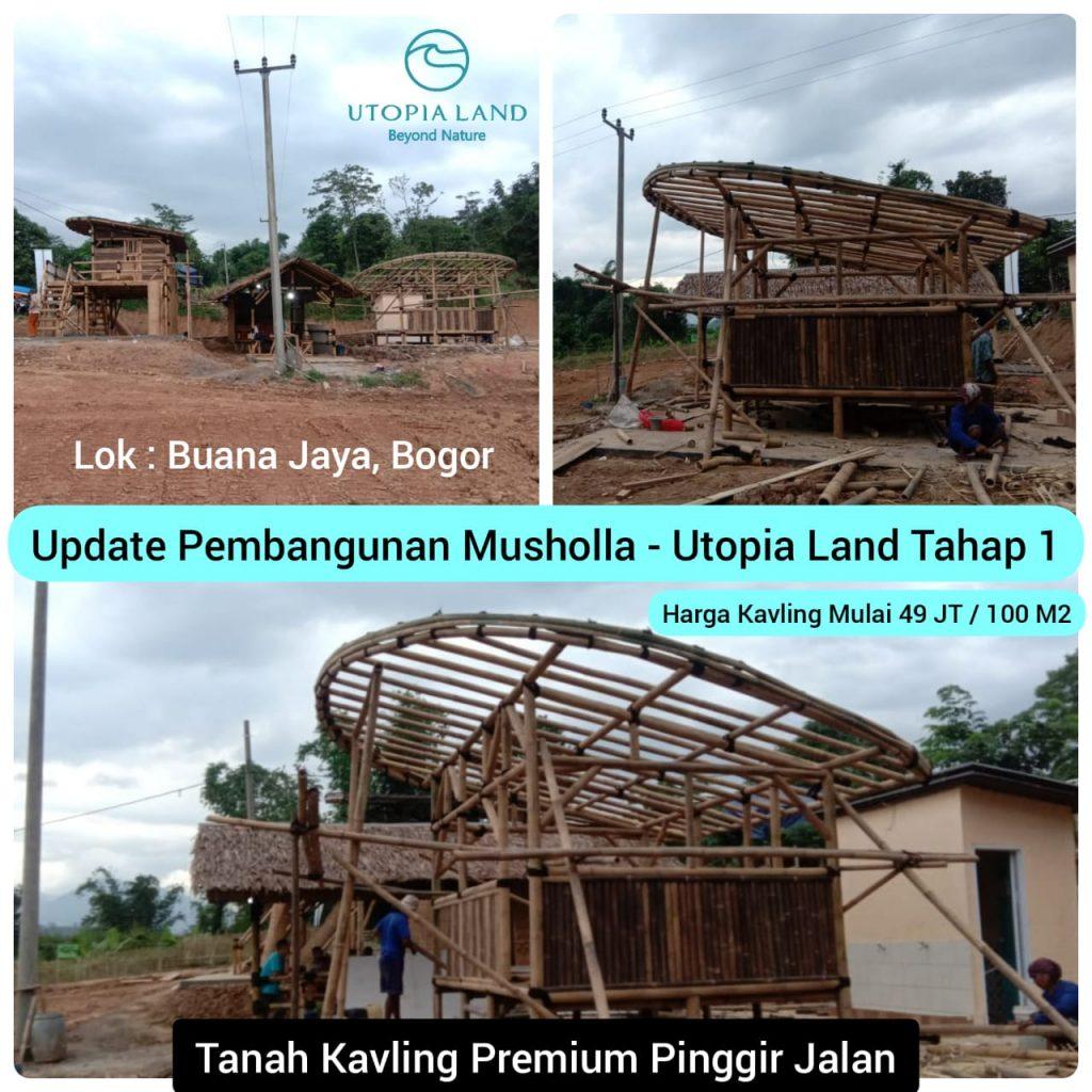 Update Pembangunan Musholla