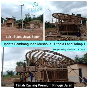 Update Pembangunan Musholla